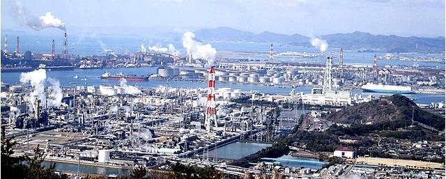 倉敷 再開発 水島工業地帯